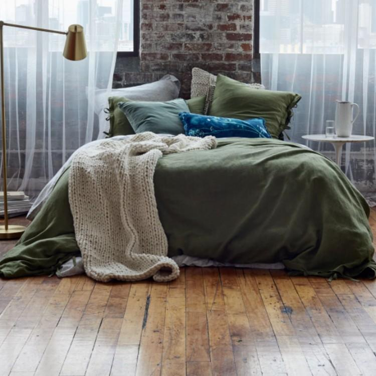 Treasure & Bond Relaxed Cotton & Linen Duvet Cover (Photo: Nordstrom)