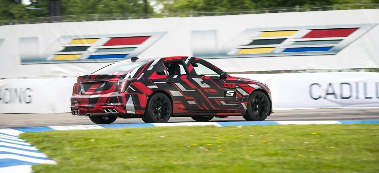 Photos of the More Hard-Core Cadillac CT5-V and CT4-V Prototypes