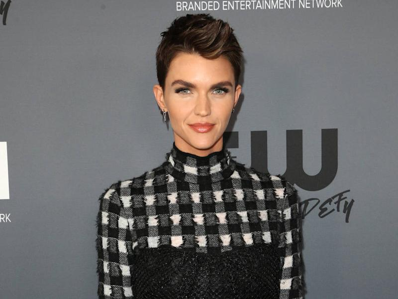Ruby Rose adamant short hair suits her best