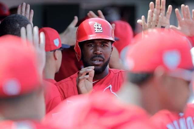 Dexter Fowler is trying to rebound after a rough 2018 season. (AP)