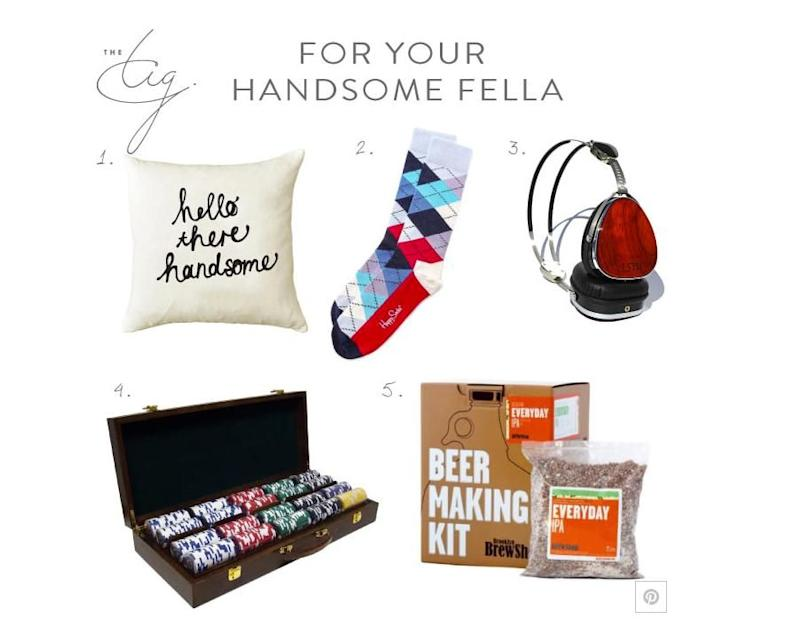 Here are the gifts she claims she would buy the man in her life. Photo: The Tig