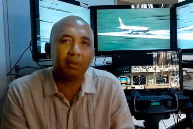 Zaharie Ahmad Shah who was Captain of Malaysia Airlines flight MH370. An unnamed friend has claimed he 'likely' locked his co-pilot out of the plane before deliberately crashing into the ocean. (Youtube)