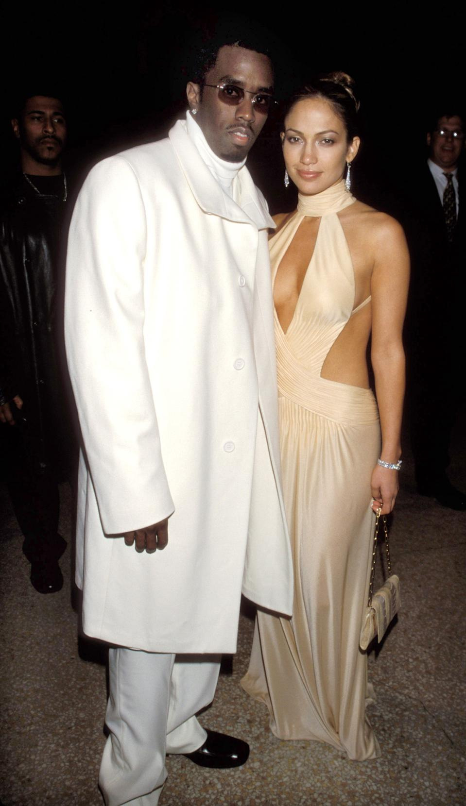 """<h1 class=""""title"""">Sean Combs and Jennifer Lopez, 1999</h1><cite class=""""credit"""">Photo: Getty Images</cite>"""