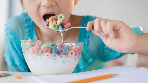 PHOTO: Stock photo of girl eating a bowl of cereal. (STOCK PHOTO/Getty Images)