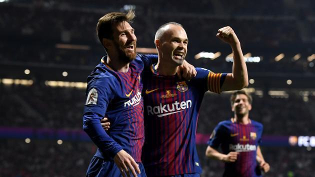 <p>Messi & Barcelona soothe Champions League pain with Copa masterclass in Madrid</p>