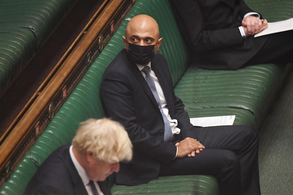 MPs are being 'encouraged' to continue to wear face coverings after July 19 when in Parliament (PA Media)