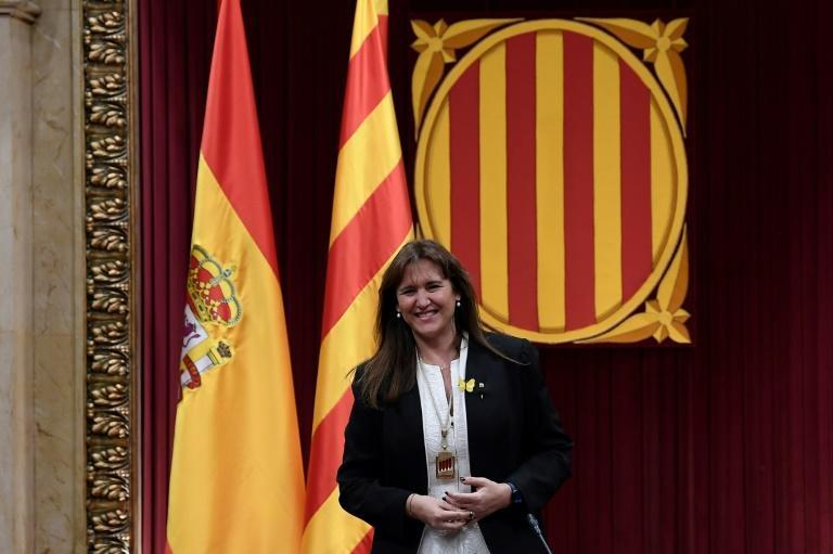 Newly appointed Catalonia´s regional parliament speaker Laura Borras on Friday