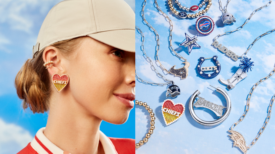 Where to buy the Baublebar x NFL collection