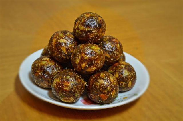 Sugar free Dry fruit Ladoo Recipe
