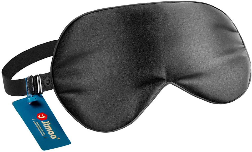 """<h2>Natural Silk Sleep Mask<br></h2><br>Those seeking an exact dupe for cult-favorite luxury sleep mask Slip won't find it here (although Slip's mask is<a href=""""https://www.nordstromrack.com/shop/product/3271500?color=HOLLYWOOD%20HILLS%20PINK%20STRIPE"""" rel=""""nofollow noopener"""" target=""""_blank"""" data-ylk=""""slk:on sale right now at Nordstrom Rack"""" class=""""link rapid-noclick-resp""""> on sale right now at Nordstrom Rack</a> for $25), but what they will find is a top-rated 100% silk mask for a fraction of the cost. The cute scrunched side that Slip is known for is not an option at this low price but it's subbed in by a respectable adjustable strap that's perfect for catching a few extra winks.<br><br><strong>4.6 out of 5 stars and 2,017</strong> <strong>reviews</strong><br><br><strong>J JIMOO</strong> Natural Silk Sleep Mask, $, available at <a href=""""https://www.amazon.com/gp/product/B07X7FD8NB?th=1"""" rel=""""nofollow noopener"""" target=""""_blank"""" data-ylk=""""slk:Amazon"""" class=""""link rapid-noclick-resp"""">Amazon</a>"""