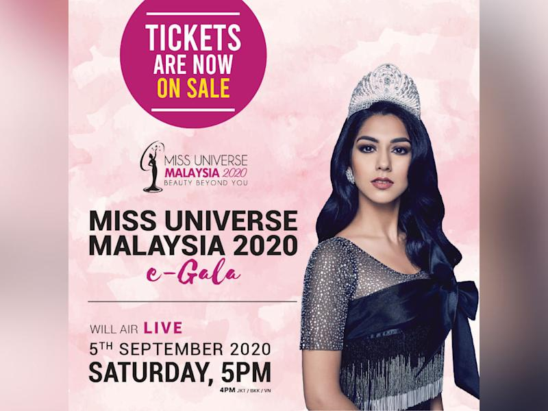 Get your tickets to see the crowning of Mis Universe Malaysia 2020!