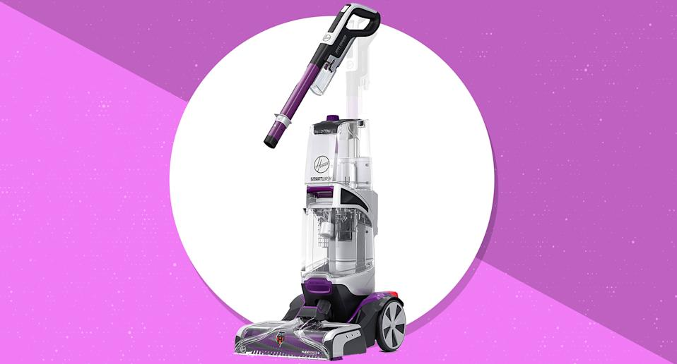 Save 33 percent on the Hoover SmartWash Automatic Carpet Cleaner Machine today only. (Photo: Amazon)