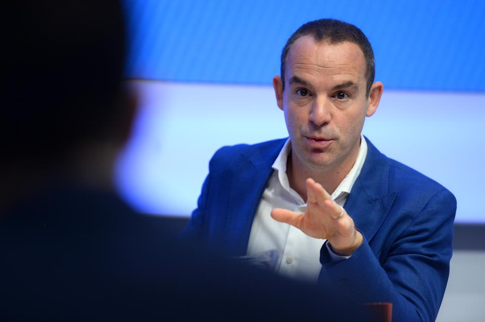 Money Saving Expert's Martin Lewis during a joint press conference with Facebook at the Facebook headquarters in London.
