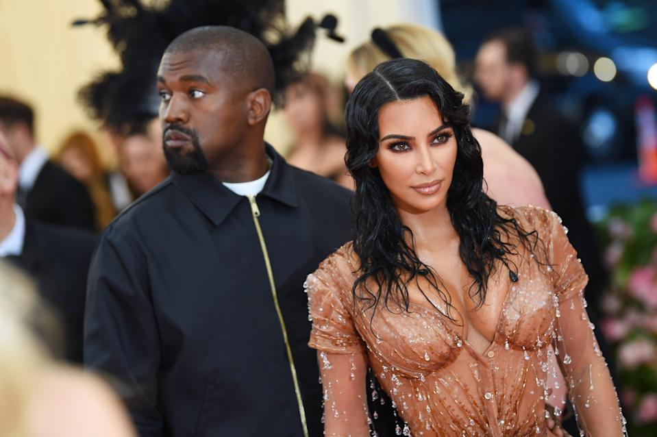 Kim Kardashian West and Kanye West attend The 2019 Met GalaGetty Images for The Met Museum/
