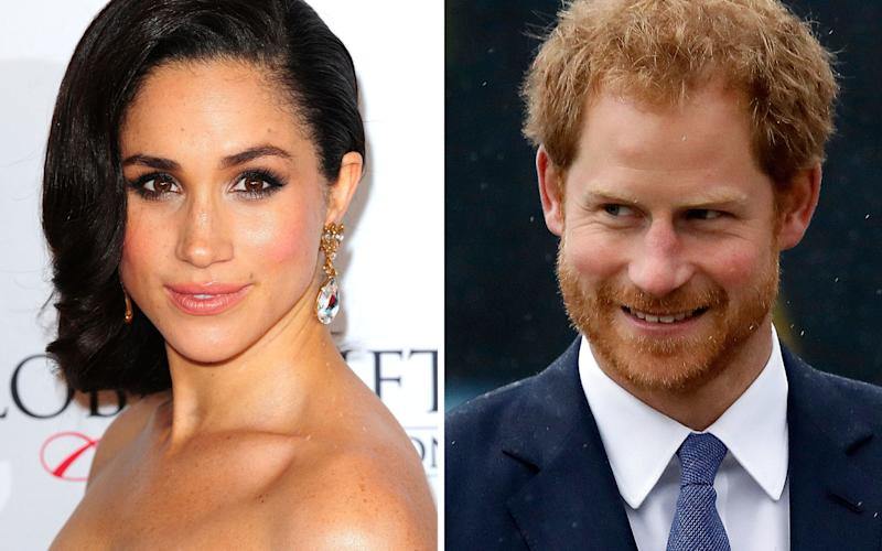 Prince Harry flies to Toronto to visit girlfriend Meghan Markle. - PA