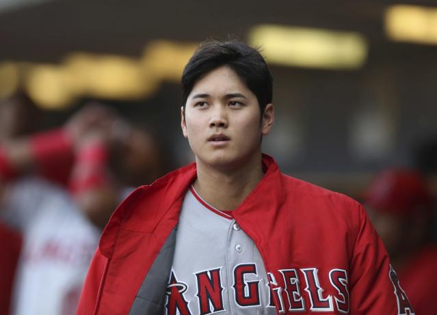 The Japanese Babe Ruth, Shohei Ohtani, pitched in Detroit Wednesday night in front of roughly 12,000 fans. (AP)
