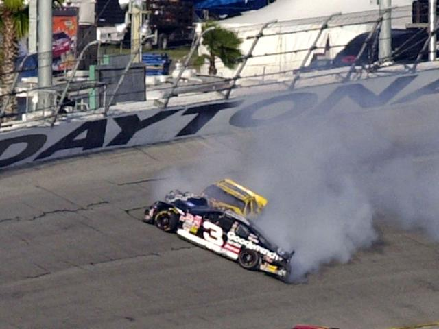 Dale Earnhardt died in a crash at the 43rd Daytona 500.