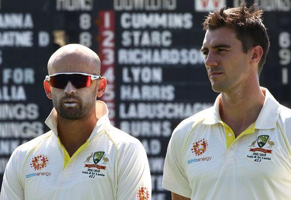 While Nathan Lyon took home the Test award, Pat Cummins received the Allan Border Medal
