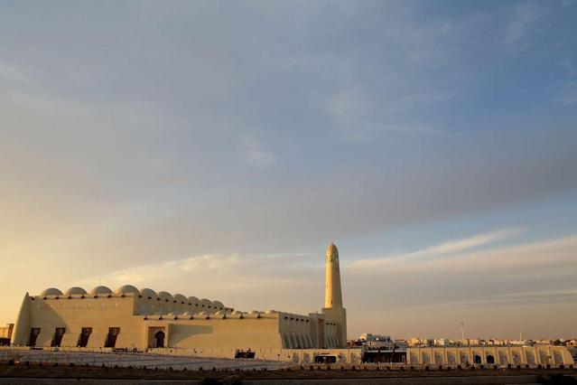 <p>The State Mosque in Doha, Qatar, is now officially known as Sheikh Muhammad Ibn Abdul Wahhab Mosque. It can hold a congregation of 30,000 including separate enclosures for men and women.</p>