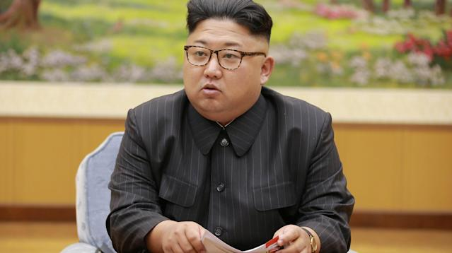 "North Korean leader Kim Jong Un made a rare, explosive address Thursday, two days after U.S. President Donald Trump threatened to ""totally destroy"" the isolated nation if provoked."