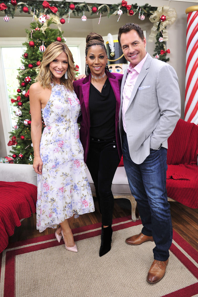 Holly Robinson Peete at Home & Family