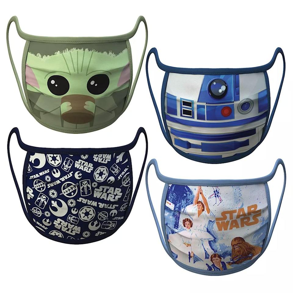 <p>These <span>Disney Cloth Face Masks</span> ($20 for four) are pretty much made of magic! Through Sept. 30, all the profits from the sales will be donated to MedShare, a nonprofit organization that's distributing surplus medical supplies and equipment to those affected by the COVID-19 pandemic. Disney is also donating one million of its face masks to families in vulnerable communities across the nation. If those aren't reasons to buy, we don't know what is.</p>