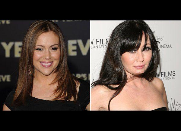 """Shannen Doherty has a reputation as Hollywood's bad girl and feuded with nearly all of her """"Beverly Hills, 90210"""" castmates, and yet it was her feud with Alyssa Milano that will go down as the worst.     The """"Charmed"""" co-stars began fighting on set during the third season and it was reported that Shannen was jealous of Alyssa's popularity.     Tension ran high on set and things grew so heated, producers had to bring in a mediator to resolve their issues. When they couldn't work things out, Shannen left the show."""