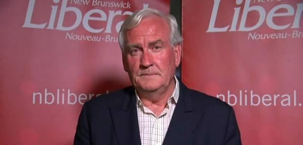 Kevin Vickers announced that he would step aside as New Brunswick Liberal leader in September 2020 after a poor election night including a failure to win his own seat. (CBC/Mike Heenan  - image credit)