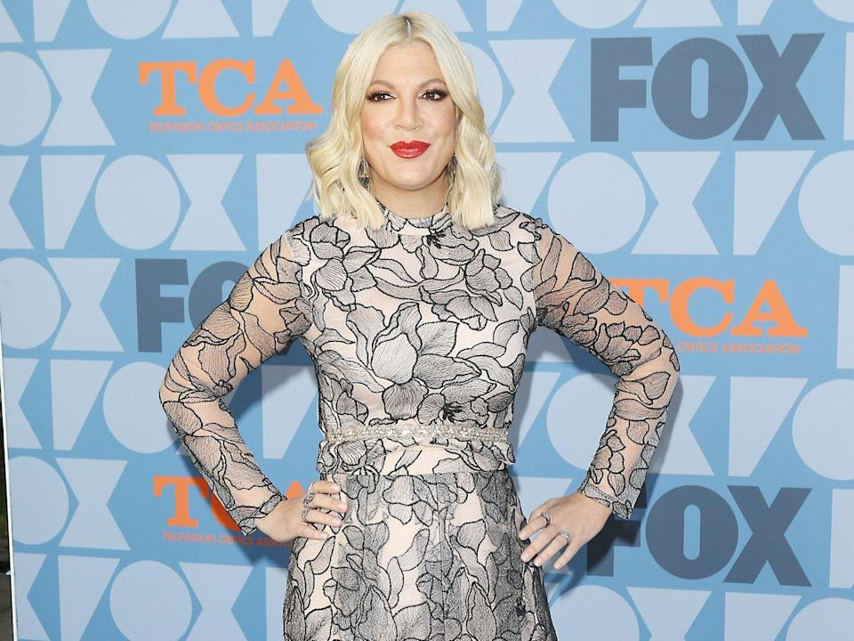Tori Spelling opens up about being victim of bullying during 90210 (AFP via Getty Images)