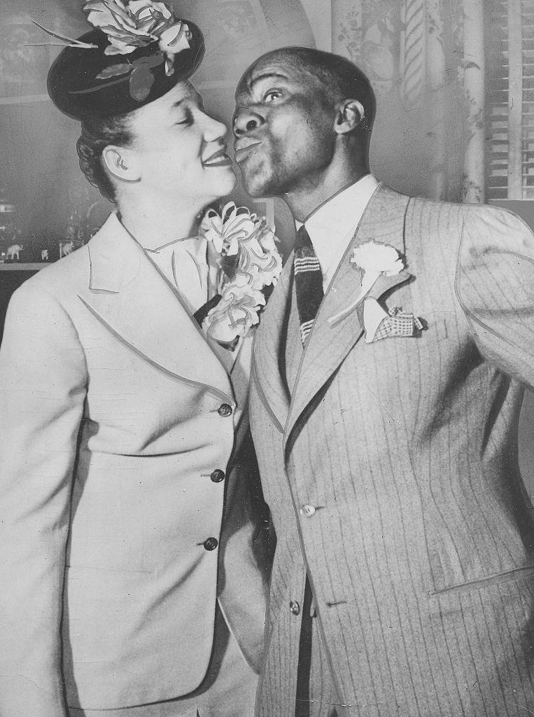 <p>Famous entertainer and tap dancer, Bill Robinson (known as Bojangles), met Elaine Plaines shortly after his divorce from his second wife, Fannie Clay. Robinson and Plaines wed in January 1944 and were married until his death in 1949. </p>