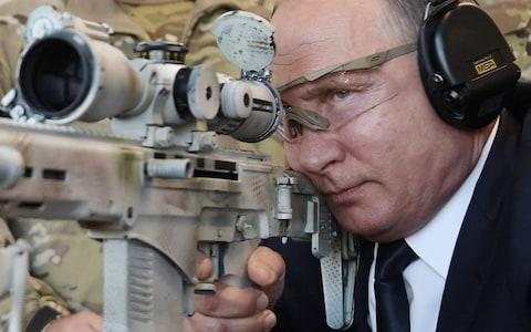 <span>Russia has deployed around 100 troops to Venezuela but Mr Putin is reportedly no fan of its leader</span> <span>Credit: AFP </span>