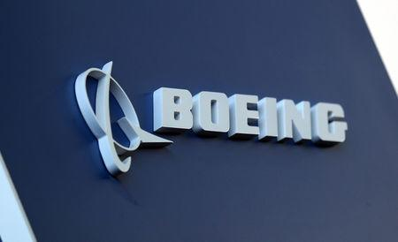 Boeing logo LABACE in Sao Paulo