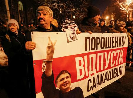 Saakashvili promises more protests in Ukraine