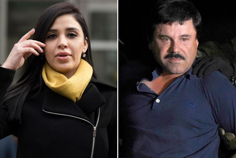 Emma Coronel Aispuro and El Chapo | DON EMMERT/Getty Images; ALFREDO ESTRELLA/Getty Images