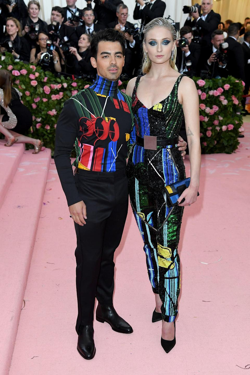 """<p>""""I feel like Louis Vuitton is so great at matching outfits to people's personalities, so it's hard to choose. But, I will say Sophie Turner and <a class=""""link rapid-noclick-resp"""" href=""""https://www.popsugar.co.uk/Joe-Jonas"""" rel=""""nofollow noopener"""" target=""""_blank"""" data-ylk=""""slk:Joe Jonas"""">Joe Jonas</a> could be my favorite, because I'm such a Jonas Brothers fan. So this was the complete package for me.""""</p>"""
