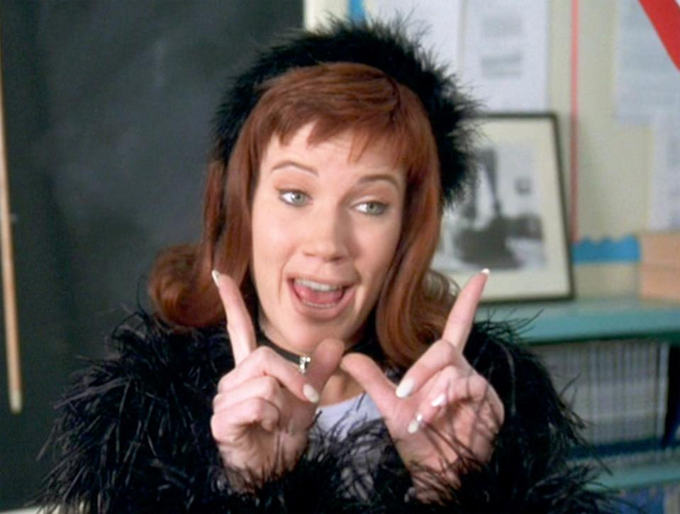Elisa Donovan as Amber Mariens in 'Clueless'. (Photo by CBS via Getty Images)