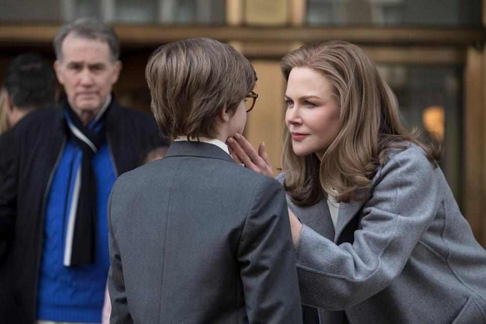 Nicole Kidman is de-aged for the flashback sequences. (Warner Bros.)