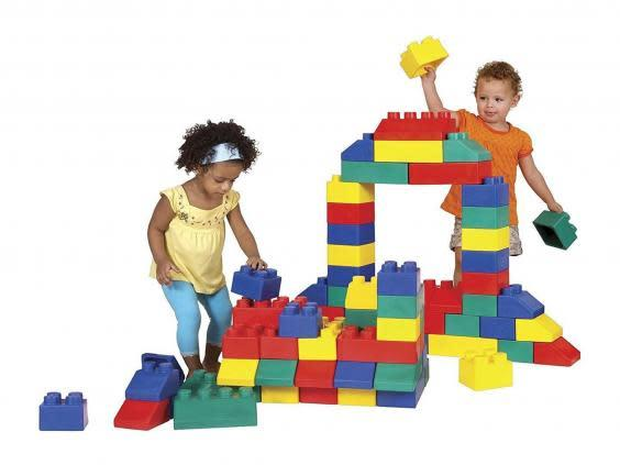 These giant building blocks will keep them active (Amazon)