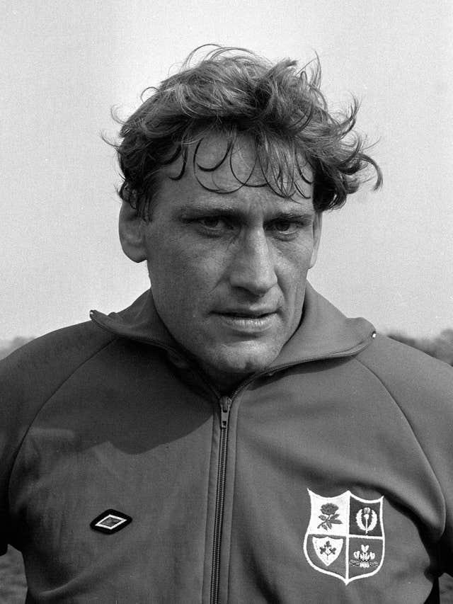 Willie John McBride led the 1974 Lions on their triumphant tour of South Africa