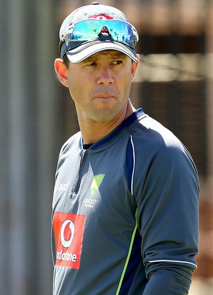Ricky Ponting looks on during an Australian training session at WACA on November 29, 2012 in Perth, Australia.  (Photo by Paul Kane/Getty Images)