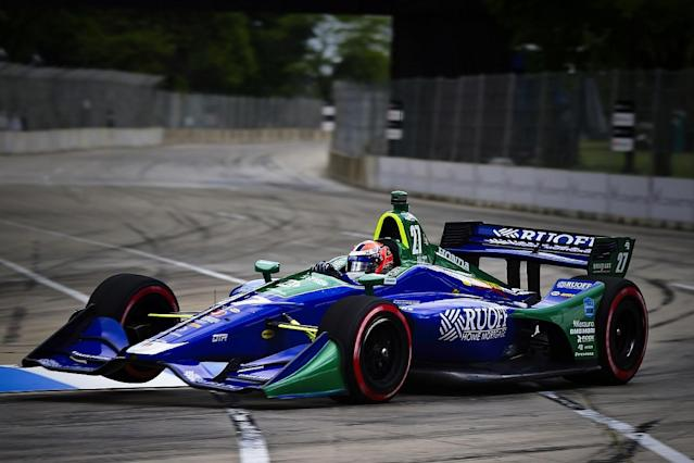 Rossi 'kicking himself' over 'big' Detroit error