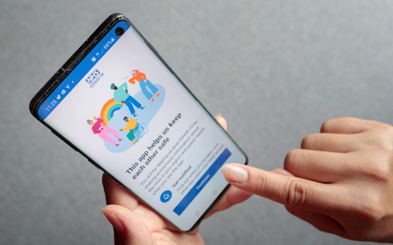 NHS Covid-19 app downloaded more than a million times in 24 hours