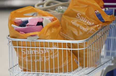 British supermarket Sainsbury's vows to halve plastic packaging by 2025