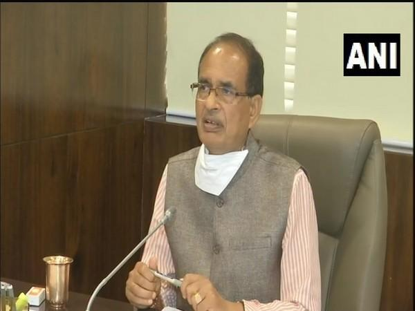 Madhya Pradesh Chief Minister Shivraj Singh Chouhan. (Photo/ANI)