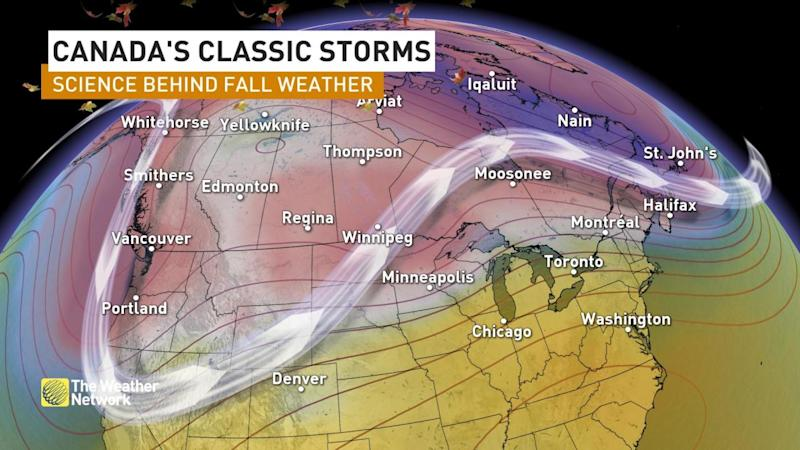 The science behind Canada's 'classic' fall storms