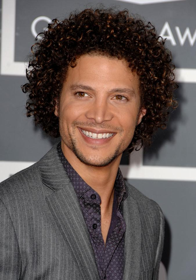 "<a href=""/justin-guarini/contributor/1147136"">Justin Guarini</a> arrives at the 51st Annual Grammy Awards at the Staples Center on February 8, 2009, in Los Angeles."