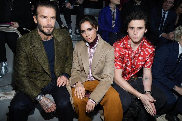 The Beckhams were not at home during the attempted break-in