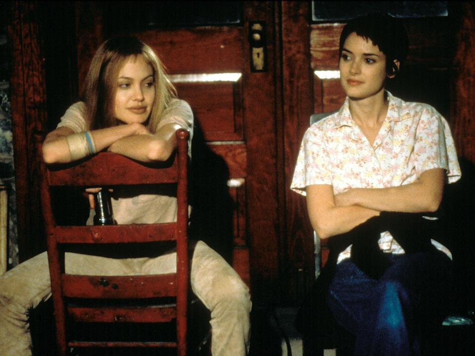 Angelina Jolie and Winona Ryder in the 1999 'Girl, Interrupted'Moviestore/Shutterstock