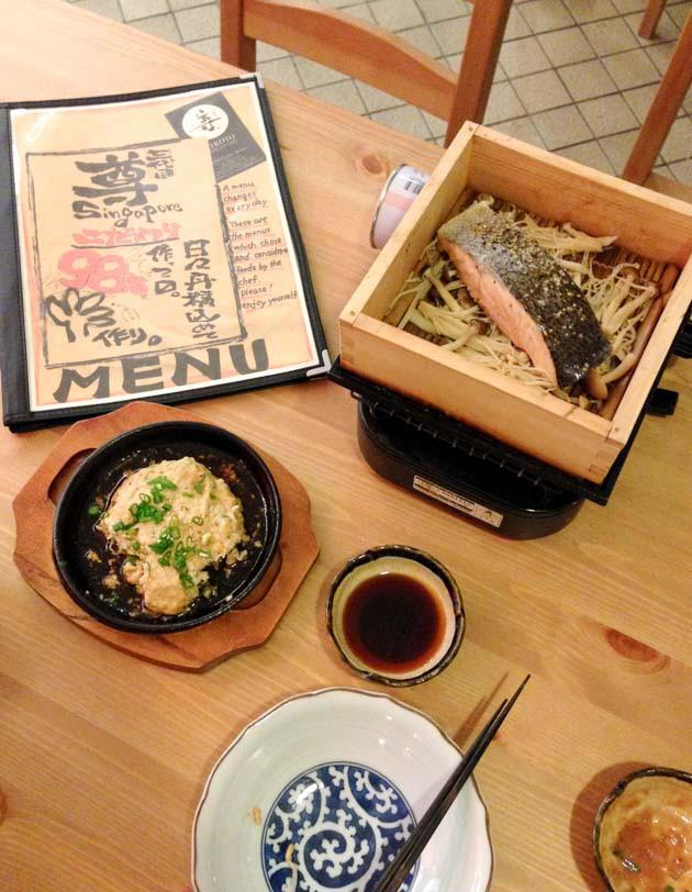 affordable japanese food in singapore mikoto