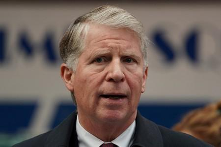 FILE PHOTO: Manhattan District Attorney Vance Jr. speaks at a news conference to discuss the Concealed Carry Reciprocity Act in New York